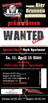 Wanted, 11.April 2015